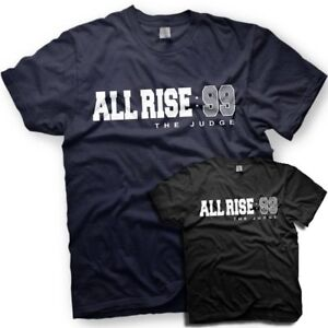 967784192 Aaron Judge - All Rise T-Shirt - New York Yankees - Number 99 | eBay