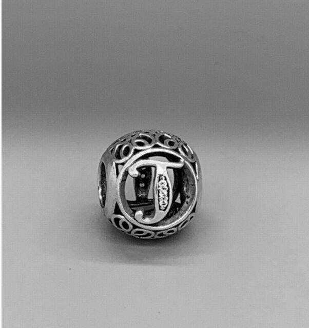 Genuine Authentic Pandora Charm Letter T  H  And P