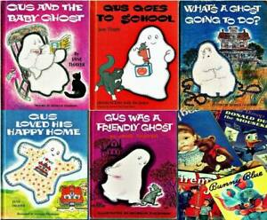 Lot of 5 Vintage Children's GUS THE GHOST Books By Jane Thayer
