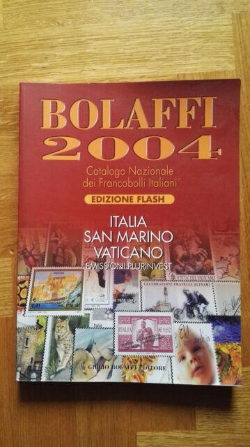 Catalogo Bolaffi 2004 - Edizione Flash Italia, San Marino, Vaticano