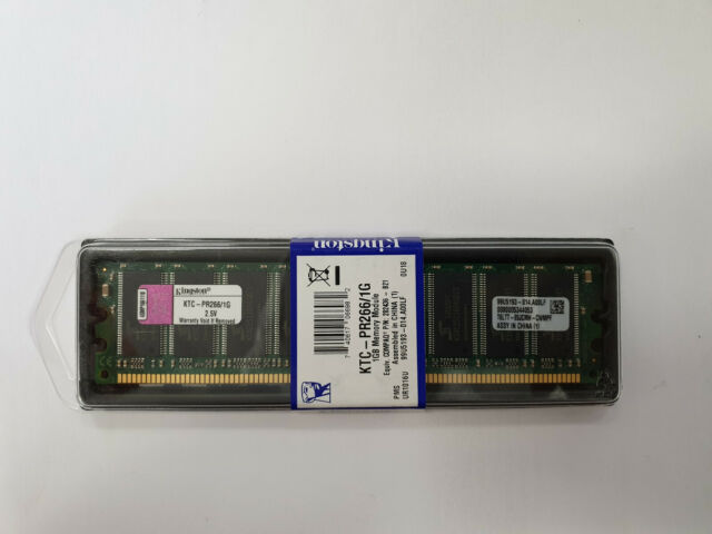 Kingston Ktc-pr266/1g 1 GB DDR Sdram-Speicher Modul