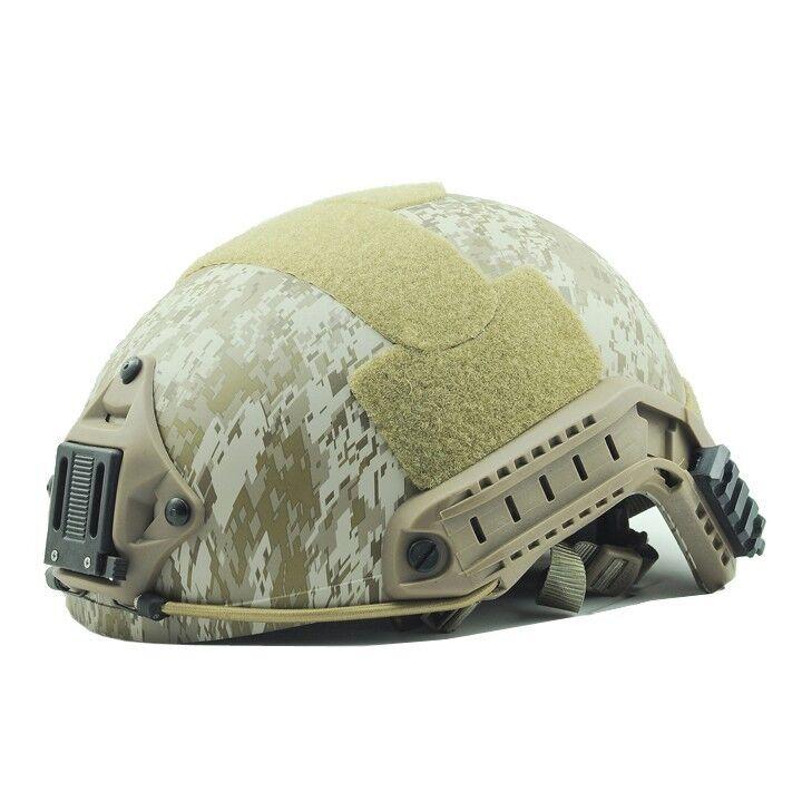 Airsoft Paintball Predective Ballistic Helmet Digital Desert F463 L XL