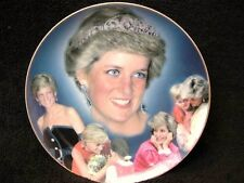 """8"""" COMPTON & WOODHOUSE THE PEOPLES PRINCESS LADY DIANA PLATE MADE BY WEDGWOOD"""