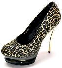 New women's shoes black gold glitter stilettos pumps evening party prom