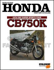 Honda CB750K Shop Manual 1979 1980 1981 1982 CB750 Motorcycle Service CylcleServ