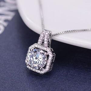 Fashion-Women-Charm-Crystal-Pendant-Chain-Statement-Choker-Necklace-Jewelry-Gift