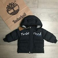 Gorgeous Timberland Baby Boys Coat 6m Navy Blue & Lots More 100% Genuine