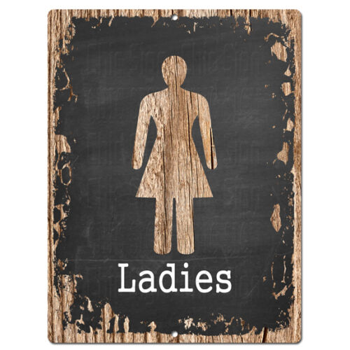 PP4220 LADIES RESTROOM Sign Store Shop Cafe  Restaurant Restroom Decor