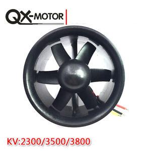 70mm Ducted fan 6 Blades EDF QF2827 Motor 2300KV/ 3500KV