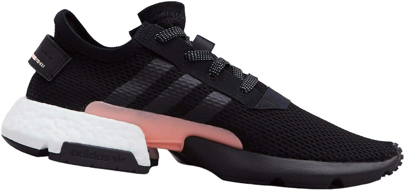 Adidas POD-S3.1 Turnschuhe Sport Freizeitschuhe Schuhe Boost Schwarz NEU