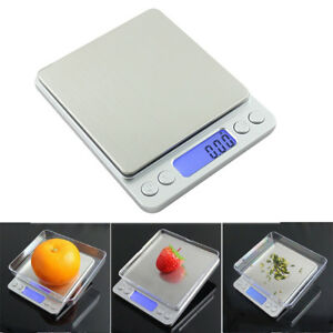 LCD Digital Electronic Kitchen alimentaire Balance Bijoux 0.01g-500g UKES 							 							</span>