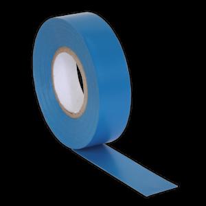 ITBLU-10-Sealey-PVC-nastro-isolante-19mm-x-20mtr-Blu-Confezione-da-10-nastri