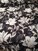 Designer Hardy Superior Quality Charcoal Black Tapestry Curtain Fabric 25 Metre