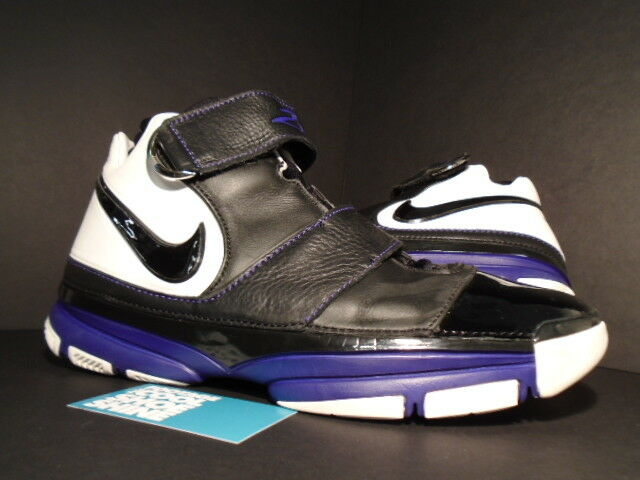 separation shoes 50540 4da0c 2007 Nike Nike Nike Zoom KOBE II 2 ST STRENGTH ORCA BLACK WHITE PURPLE  GRAPE 316835
