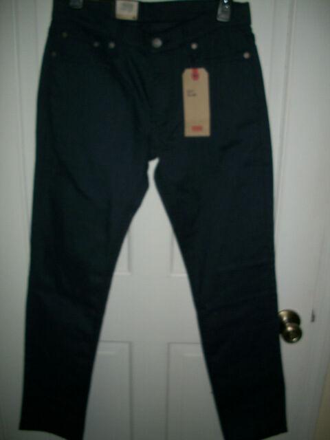 Levi/'s Mens 511 Slim Fit Stretch Flannel Twill Jeans Gray 38x30