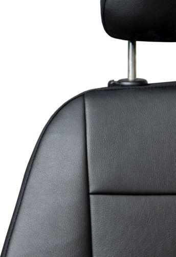 Maßgefertigte Vordersitzbezüge Kunstleder Schwarz für Opel Astra F G H J
