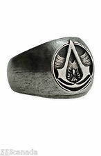 LARGE SIZE - Assassins Creed Master Assassin Ring with ORIGINAL BOX - Very RARE