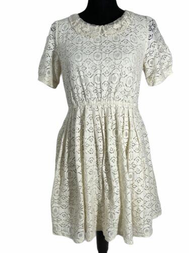 Boho Chic Cottagecore Short Lace Dress Forever 21