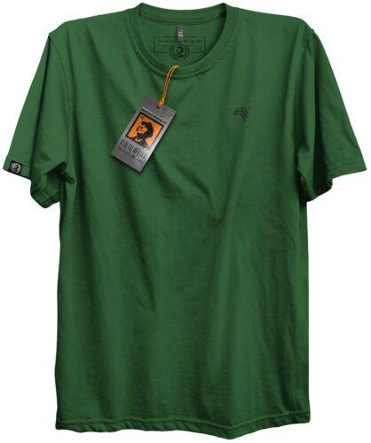 Dunkelgrün JAN 0002 Komfort-T-Shirt Basic Herren Männer Übergrößen BRIGADEER