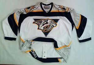 release date: 7f71a a5a6e Details about RARE 90's CCM AUTHENTIC ON ICE GAME JERSEY NASHVILLE  PREDATORS JERSEY SIZE 56