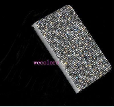 Bling Crystal Pu Leather Diamond Case Cover For Samsung Galaxy Note 3 III N9000