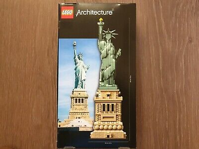 Lego Architecture 21042 Stature of Liberty Brand New Sealed UK Seller!!!