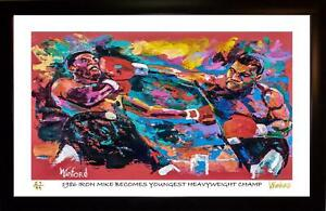 MIKE-TYSON-L-E-98-99-ART-PRINT-ARTWORK-SIGNED-BY-ARTIST-TO-STARS-WINFORD