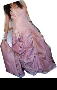 Designer-Eternity-Bride-Prom-Wedding-Dress-Size-10-12-Pink