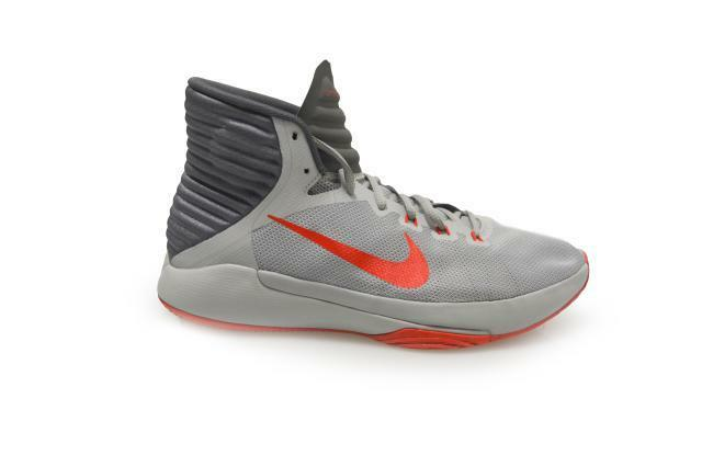 Mens Nike Prime Hype DF 2016 - 844787004 - Grey Red Trainer
