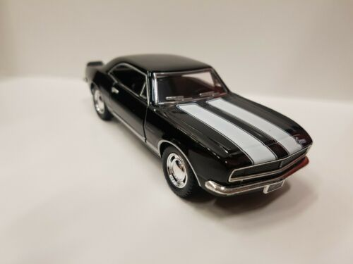 1967 Chevrolet Camaro Z-28 black kinsmart Toy car model 1//37 scale diecast metal