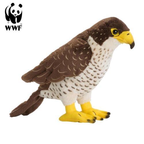 WWF Plüschtier Falke 23cm lebensecht Kuscheltier Stofftier Vogel Raubvogel NEU