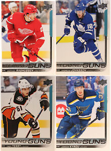 U-Pick-2018-19-Young-Guns-Upper-Deck-Series-One-Two-amp-Update-Rookie-Card-RC