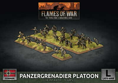 Flames of War Entièrement neuf dans sa boîte Infantry Platoon GBX169