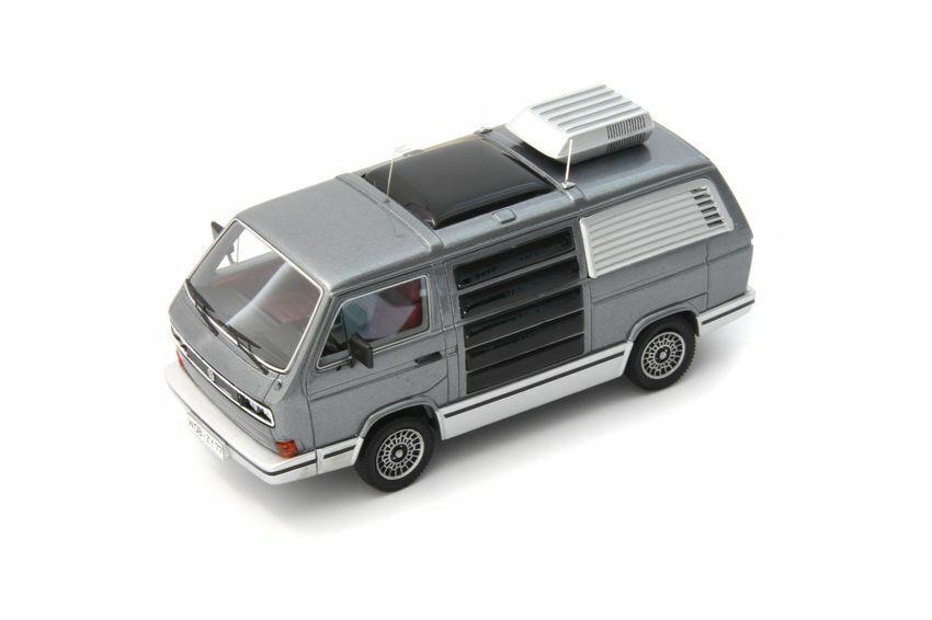 Volkswagen VW  T3 Traveller Jet 1979 Metallic gris 1 43 Model AVENUE43