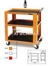 Carrello Beta C51 colore arancio portautensili portattrezzi 3 ripiani 200kg