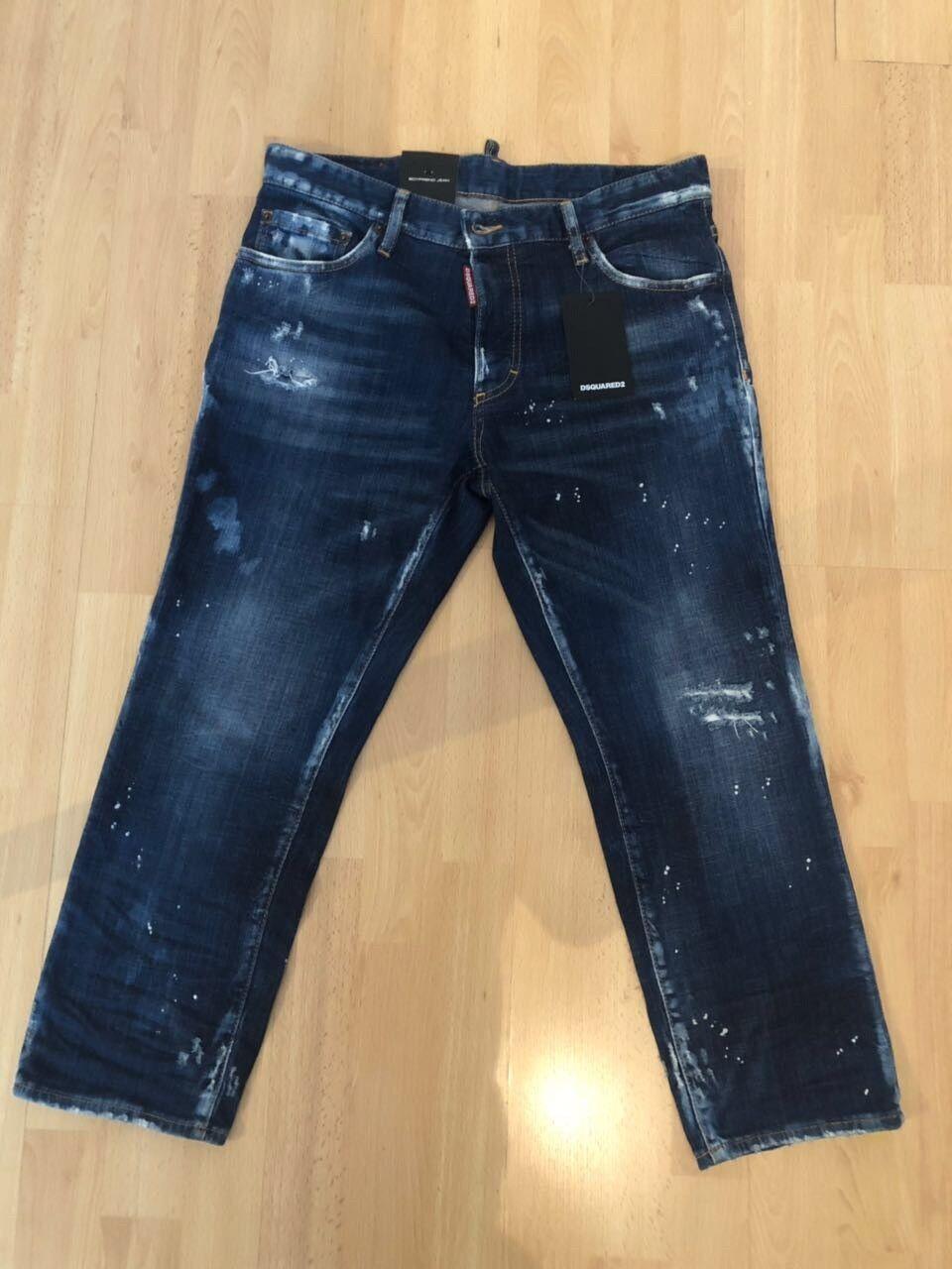 Boyfriend-Jeans DSQUArot2 NEU & ORIGINAL Grösse 36 ( Ita. 42)