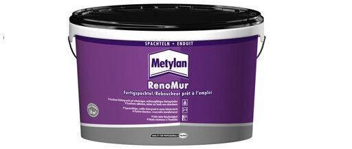 12x Metylan RenoMur Fertigspachtel 16 kg -optimale Spachteleigenschaften-