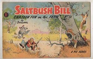 SALTBUSH-BILL-No-31-V-FINE-CONDITION-1950s-ORIGINAL-AUST-COMIC