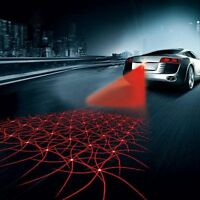 Universal Auto Laser LED Nebel Licht hinten Anti-Collision Warning Signallampe