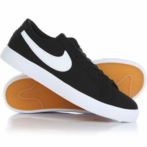 NIKE-SB-Blazer-Vapor-TXT-Textile-Black-Gum-Skate-902663-010-sz-9-5-EUR-43-UK-8-5