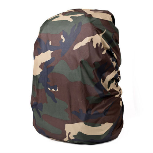 Camouflage Backpack Rain Cover Waterproof Bag Protector 20-80L Outdoor Camping