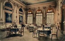 Bad Schandau Sachsen Postkarte ~1920/25 Sendig Hotel Innenansicht Speisesaal