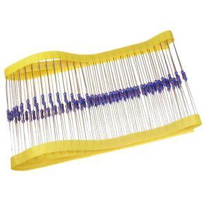 100-Widerstand-240Ohm-MF0207-Metallfilm-resistors-240R-0-6W-TK50-1-032787