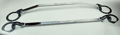 Megan Racing Front & Rear Strut Brace Bar Race Spec FITS Subaru Impreza WRX/STi