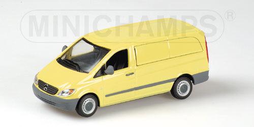 Mercedes Benz Vito Kastenwagen 2003 yellow 400032260 1 43 Minichamps
