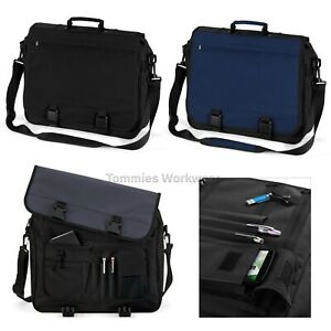 One Size Bagbase Portfolio Briefcase Bag 15 Liters Black