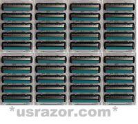 40 Schick Fx Diamond Razor Blades Fit Tracer Sports Cartridges Shaver Refills