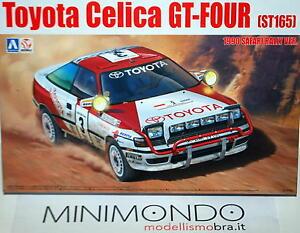 KIT-TOYOTA-CELICA-ST165-1990-SAFARI-RALLY-WINNER-1-24-AOSHIMA-24006-87885-BEEMAX