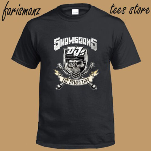 New Snowgoons Rap Hip Hop Music Men/'s Black T-Shirt Size S to 3XL