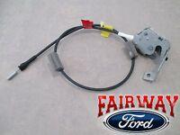97 Thru 04 F-150 Super Cab Ford Rear Door Upper Latch W/ Cable Rh Passenger